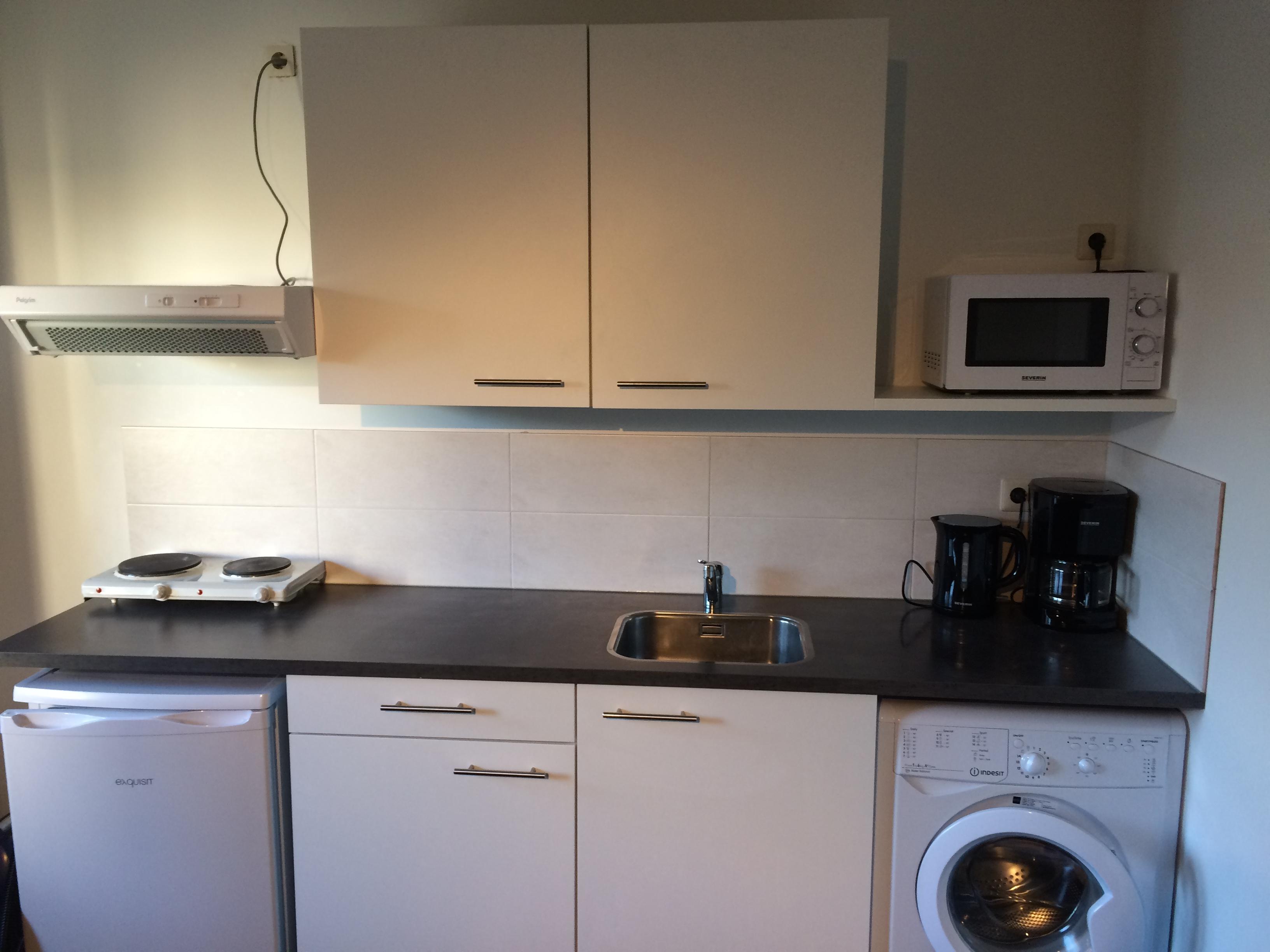 Te huur 3009 1 nieuw gemeubileerde studio in het centrumgebied van enschede twents vast enschede - Center meubilair keuken ...
